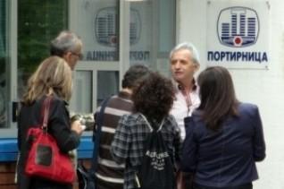 Milutin Ilić u razgovoru sa novinarima (foto: www.juznevesti.com)