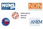 Koalicija novinarskih i medijskih udruženja: Oštro osuđujemo napade na Nedima Sejdinovića